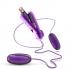 Double Pop Eggs Plum Purple Vibrating Bullet