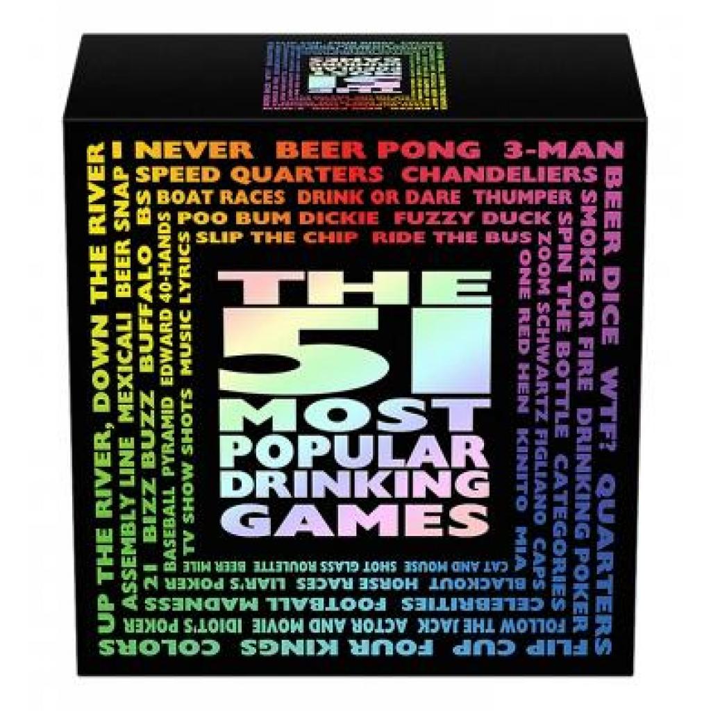 51 Most Popular Drinking Games - Kheper Games
