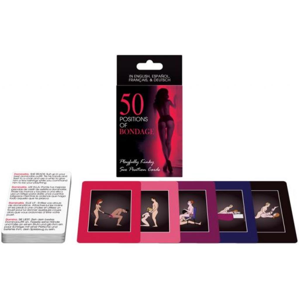 50 Positions Of Bondage Card Game - Kheper Games
