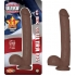 All American Ultra Whoppers Straight 11 inches Dong Brown  - Nasstoys