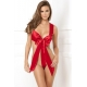 Unwrap Me Satin Bow Teddy Red M/L