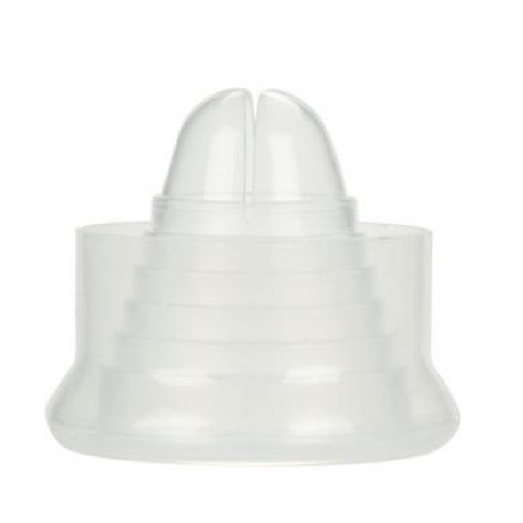 Universal Silicone Pump Sleeve - Clear - Cal Exotics