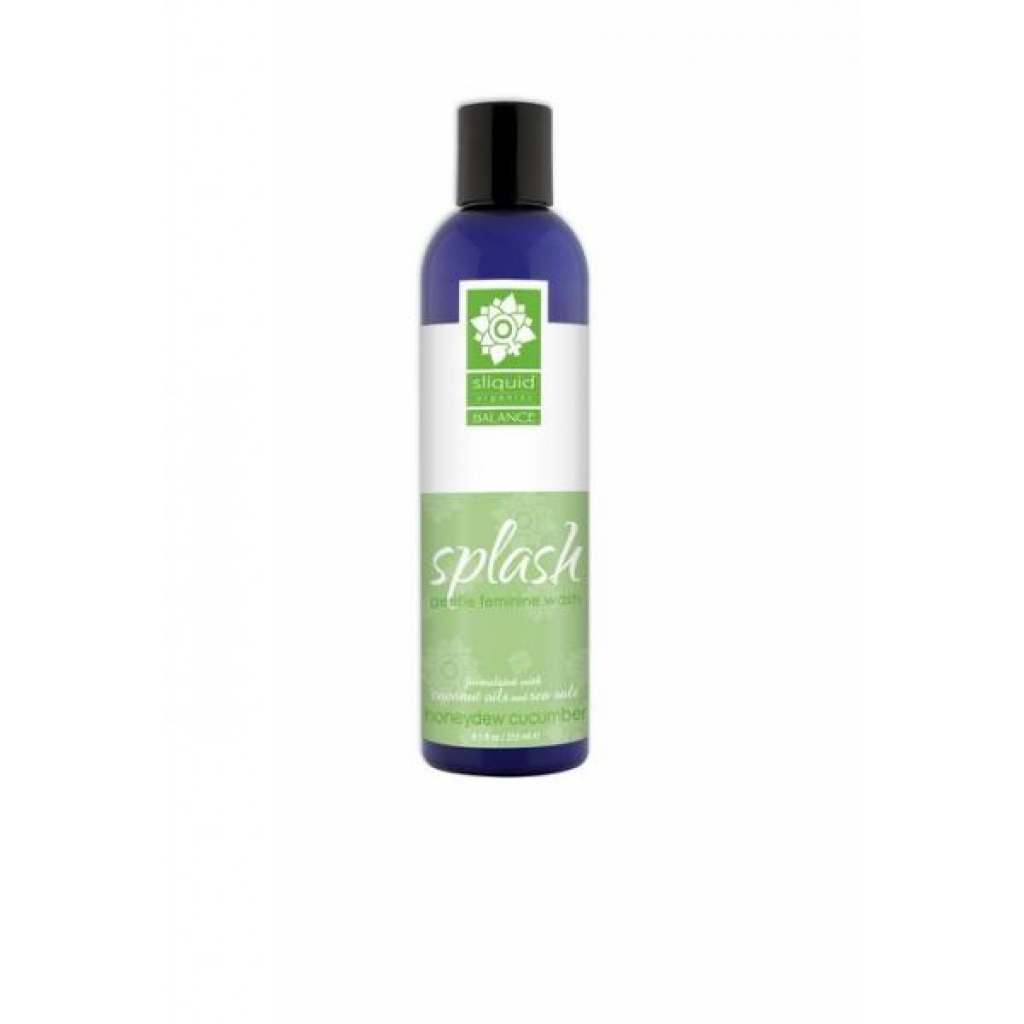 Balance Splash Feminine Wash Honeydew Cucumber 8.5oz - Sliquid