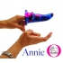 Annie-O Vixskin Galaxy Vibrating Dildo - Vixen Creations