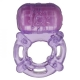 Cloud 9 Pleasure Tickler 5 Speed Ring Purple