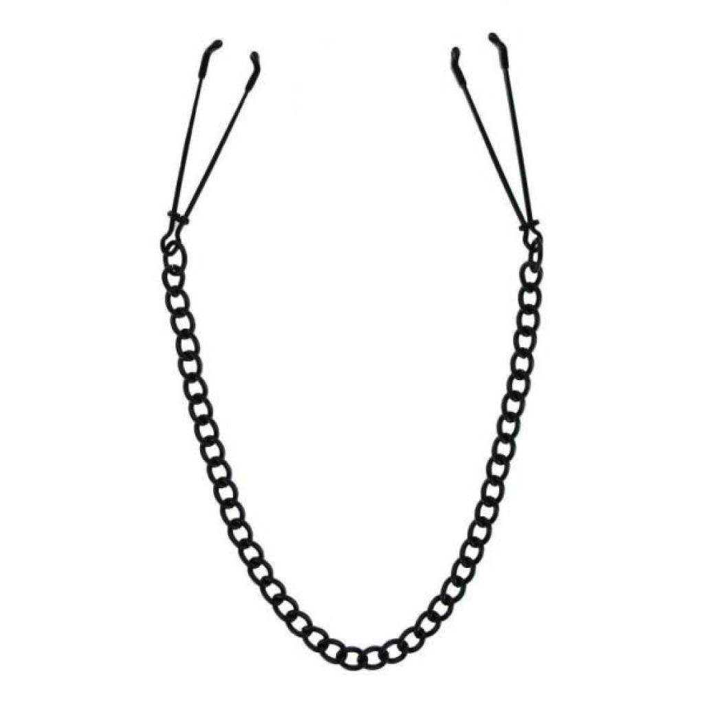 Black Tweezer Nipple Clamps Vice - Xr Brands